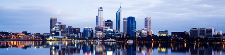 perth skyline image